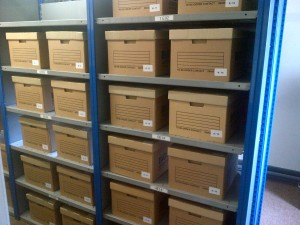 NIAB's archive as it begins to take shape (all rights reserved by Dominic Berry)